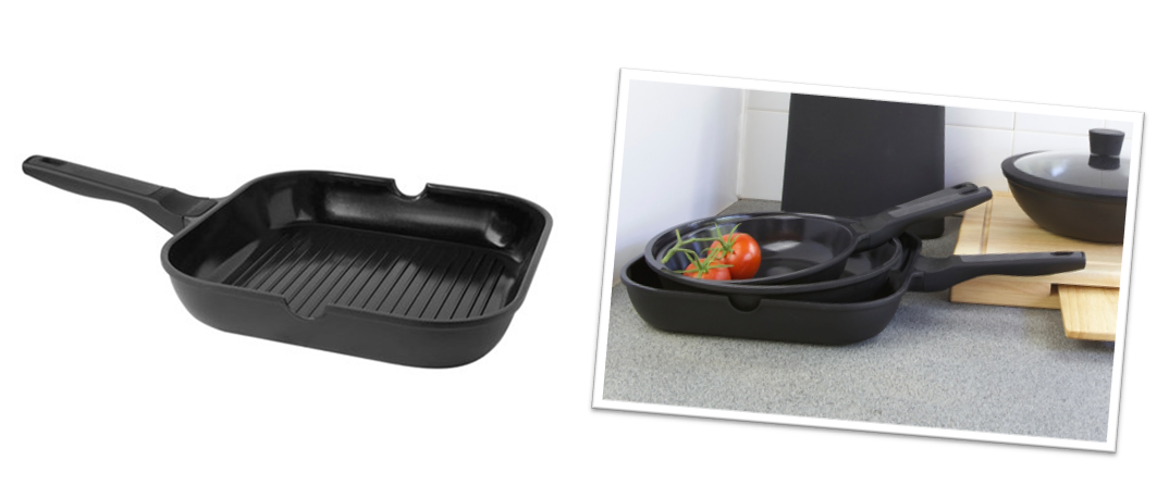 Pete Evans Cookware Healthy Everyday Grill Pan Two Image