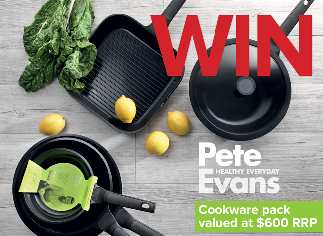 Win Pete Evans Cookware