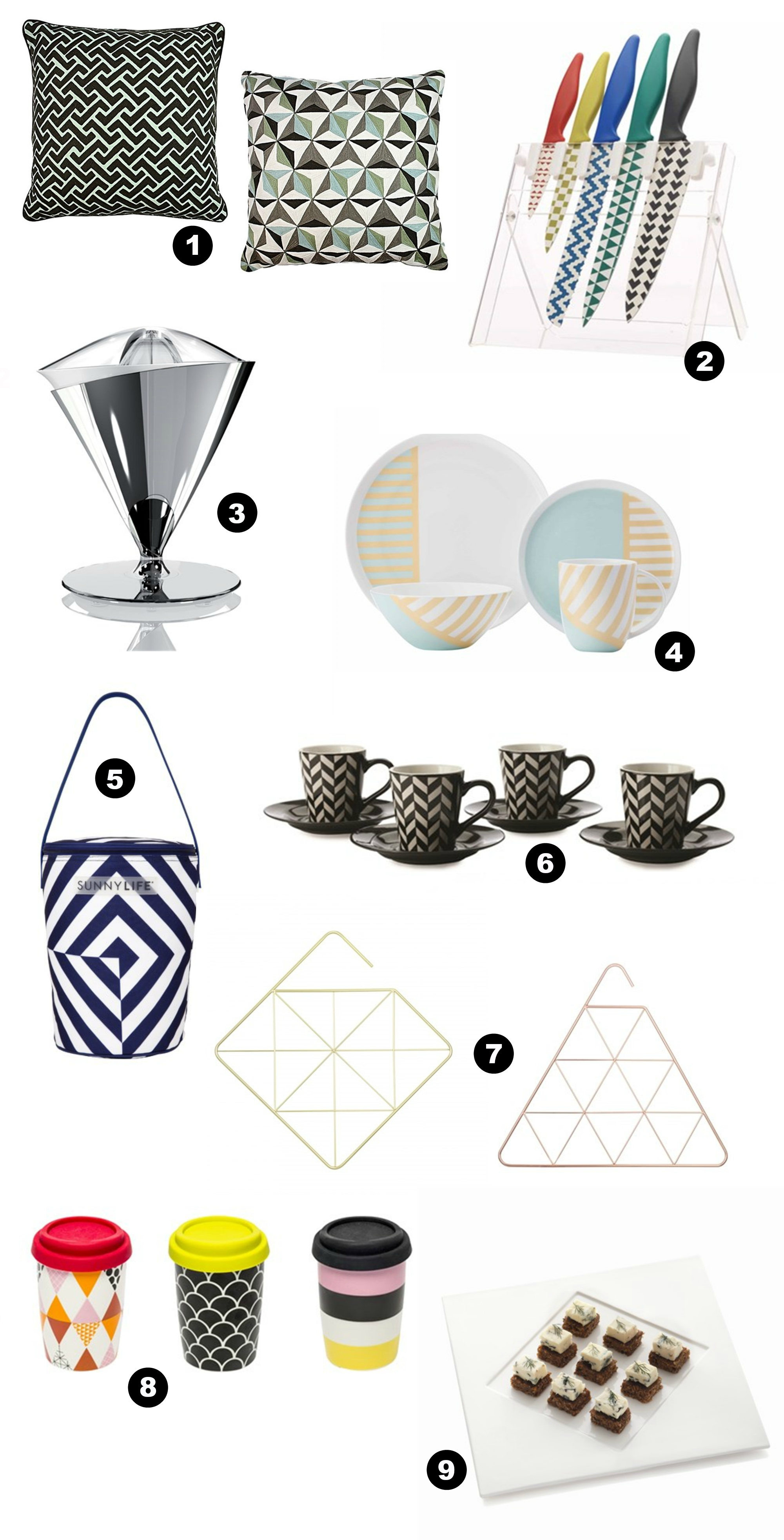 9 Ways to Add Geometric Glam to Your Home