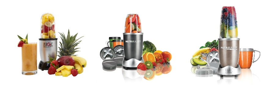NutriBullet and Magic Bullet Range