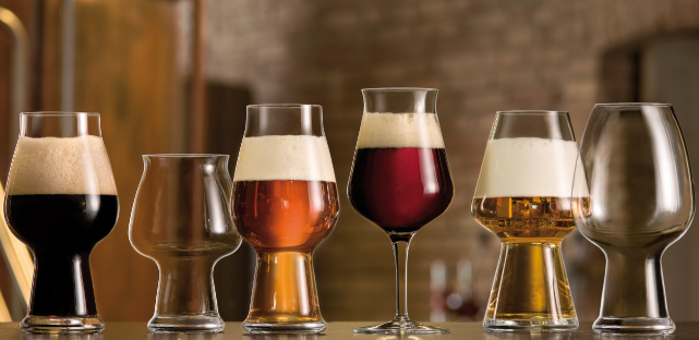 thanks to the craft beer revival there is a wide variety of beer glasses to choose from each glass has their unique